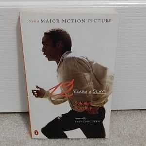 12 Years A Slave - motion picture cover book